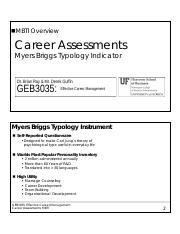 2015 Career Assessments (#1) - The MBTI - Overview (26 JULY 2015).pdf
