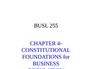 Chapter 4 Constitutional Law