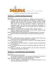 Ch. 7 Study Guide - Science