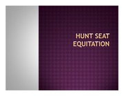 Hunt Seat Equitation_ppt14