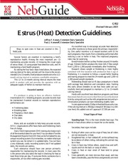 Heat Detection Guidelines