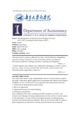 Risk Management and Internal Control Syllabus Autumn  2014