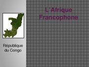 Republique du congo Presentation