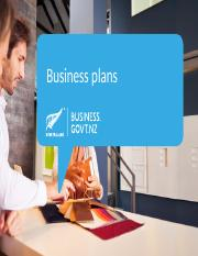 Business Plans POWERPOINT.ppt