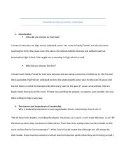LEADERSHIP PROFILE PAPER INTERVIEW Questions.docx