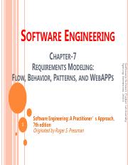 ch7-Requirements Modeling-Flow, Behavior, Patterns, and WebAPPs.pdf