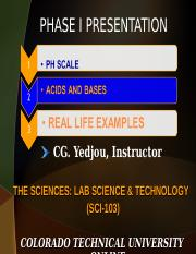 SCI 103 PHASE 1 LIVE CHAT PPT 2.ppt