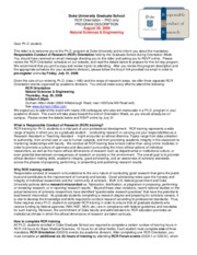 RCR Web letter 2009-07-07 Nat Sci and Eng
