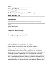 1 (Bb) - Article summary form.doc