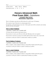 advmath-hon-finalexam2004-answers