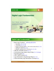 DigitalLogicFundamentals