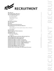 2012-13 PBL Recruitment