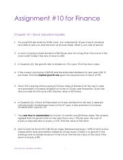 Assignments Finance - Chp 10.pdf