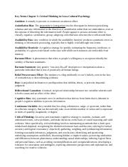 SOP3723 - Chapter 3 Terms & Notes.docx