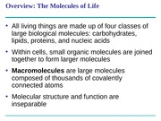 BSCI 105 Lecture_6 Carbohydrates and Lipids