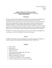 Organic_Molecules_Lab_Protocol_Packet