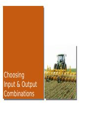 7 - Choosing Input and Output Combinations.pptx