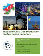 Impact of oil and gas on GDP ( Nigar&Orkhan).pdf