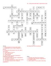 Plant form and function-crossword - 1M E S O 8c U T I G U A 15C ...