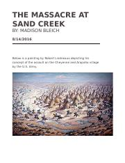 The Massacre at sand creek.docx
