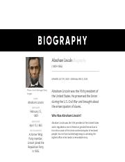 Abraham Lincoln - Quotes, Assassination & Height - Biography.pdf