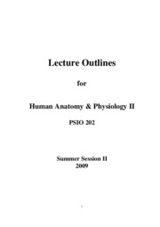 Annotated Lecture Outlines _'09 PDF Version