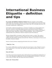International Business Etiquette.docx