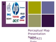 Perceptual Map Presentation