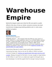 POL 1 - Warehouse Empire Article