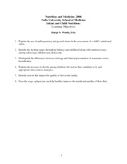 Nutrition and Medicine Lecture Notes 9