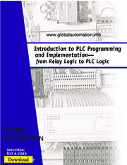 Introduction to PLC Programming