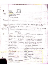 Notes Ch. 1 and 2 BUS 250