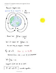 Chapter 23 magnetic fields and magnetic forces