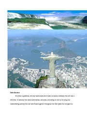 HTM 2454 Itinerary to Brazil Final Project (FINAL)