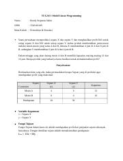 TUGAS 1 Model Linear Programming.docx