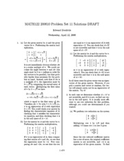 MATH122-200610-PS11-Solutions
