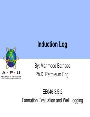 071 Electromagnetic (induction) Log