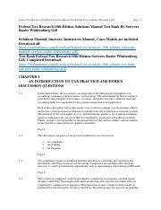 340403909-Federal-Tax-Research-10th-Edition-Sawyers-Solutions-Manual-Test-Bank.pdf