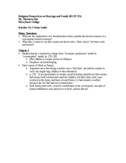 Ruether Ch. 5 notes guide