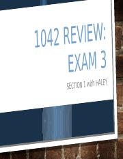 Exam 3 Review.pptx