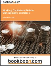 Working Capital and Debtor Management_ Exercises