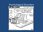PSYCH105_psychological disorders