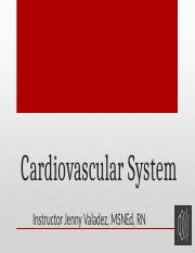 Audio- Cardiovascular System Part 1