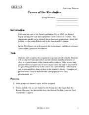 Causes_of_the_RevolutionaryWar Group Project.pdf