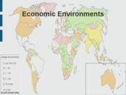 Chap 7 Economic Environments