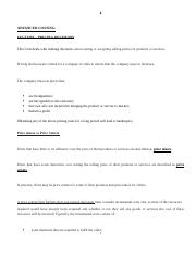 Unit 3- Lecture- Pricing Decision Notes  Answers (1).docx