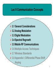 Lec9- Communication concepts 1