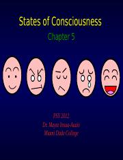 Chapter 5 States of Consciousness REV.ppt