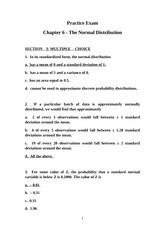 Practice-Exam-chapter-6-solution - Practice Exam Chapter 6 The ...