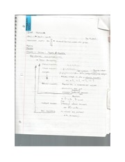 Textbook notes; Real Numbers and Number Lines